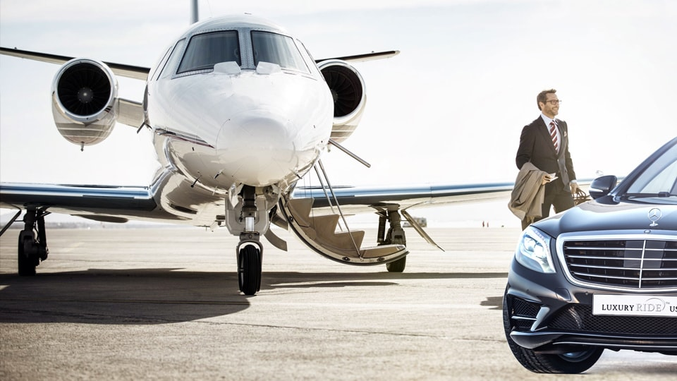 luxury airport transfer service